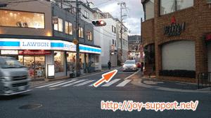 伏見稲荷大社への道
