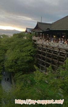 清水寺-清水の舞台