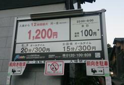 kiyomizudera-parking