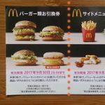 マクドナルド 株主優待券の使い方!最大47%OFFで食事ができる?