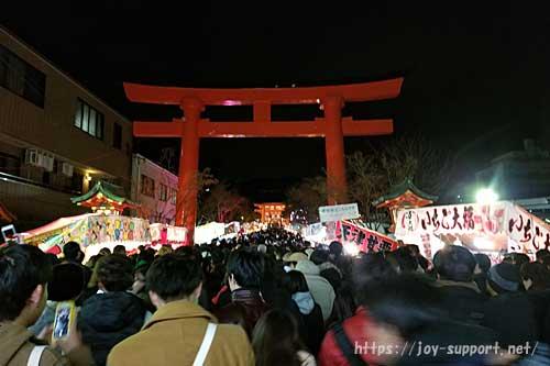 伏見稲荷大社-初詣