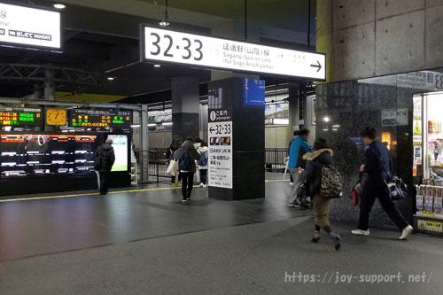 JR電車-33.34番線乗り場