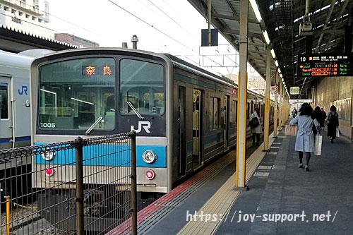京都駅-JR奈良線