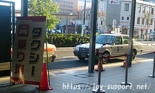 京都駅-タクシー乗り場
